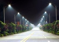 What are the benefits of using LED street lights in urban lighting?