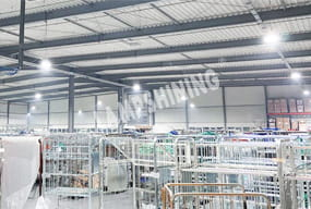 Case of 240W CRI 90 UFO LED High Bay Light for Warehouse