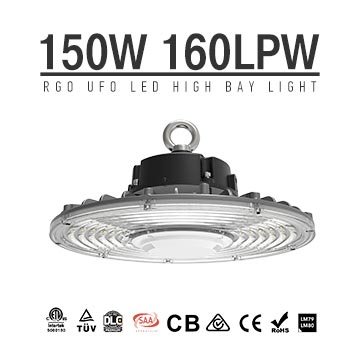 Commercial 150W UFO LED High Bay Light - gymnasium,factory,workshop,shop Lighting retrofit