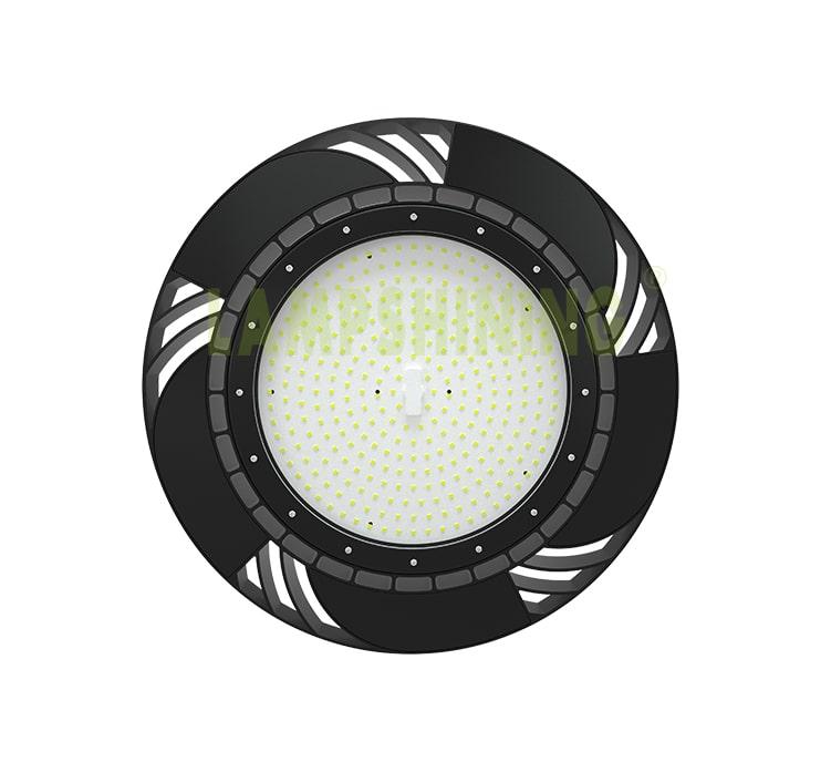 LED High Bay Shop Light 200 watt, 277V IP65 warehouse, factory, barn High ceiling lighting Fixtures