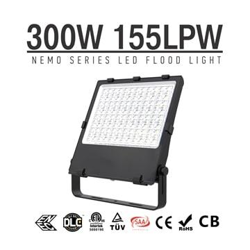 NEMO 300W LED Flood Light, 46500Lm Outdoor Exterior Area Security Lighting Wholesale