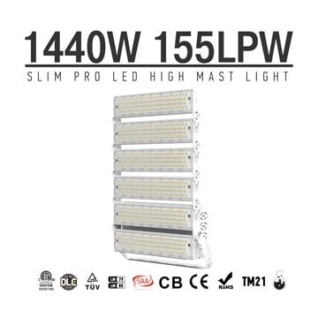 1440W Outdoor High Lumen LED Light, Tower Crane, Street Electrical Poles Lighting