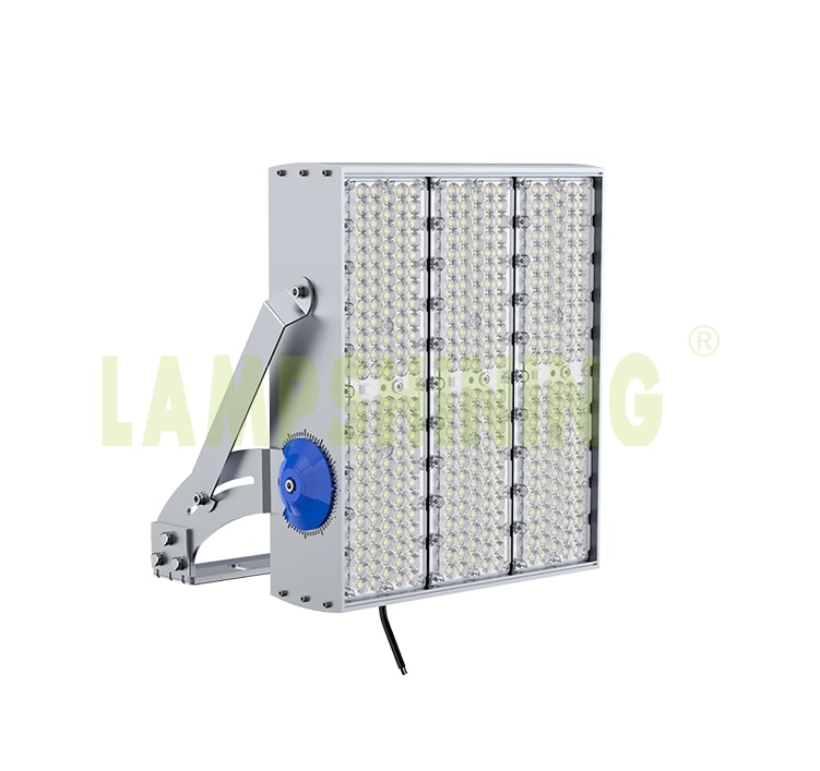 720W 900W LED High Pole Light, Oil Field, Industrial, Outdoor Flood LED Lighting
