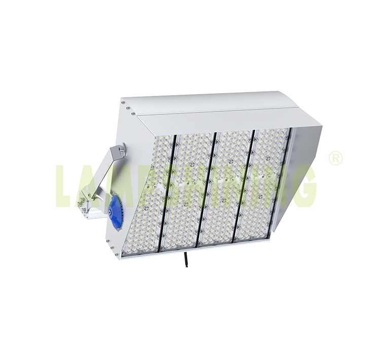 960w 1200w LED Outdoor Construction, Marine, roadway, seaports flood Lighting, 170Lm/W