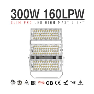 300W 48000Lm,LED Crane Lights, LED Overhead Crane Light, Airport Runway Lighting