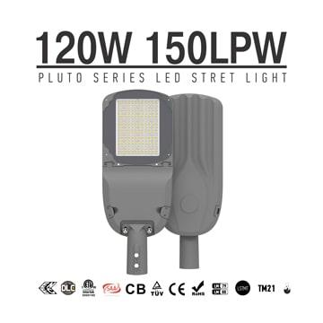 120w LED Street Light 130lmW, meanwell driver Outdoor energy saving LED Lighting