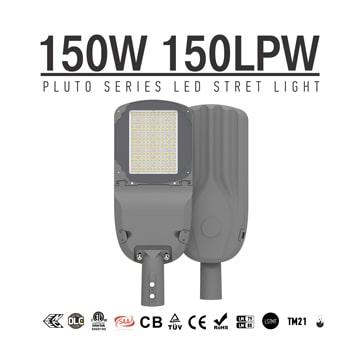 150w Street smd 3030 LED Area pole mount Lights, Outdoor waterproof ip66 Roadway Lighting