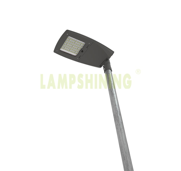 120W AC100-277V Meanwell LED Street Light with photocell, Equivalent 300W HPS/Metal Halide/HQI Light