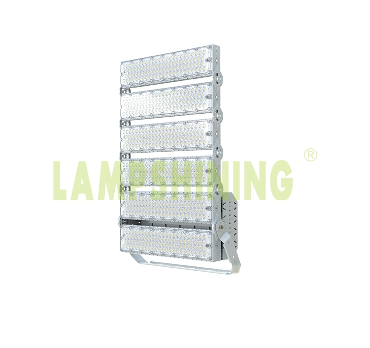 Outdoor 6 Module 1440W High Power LED Sports Lights - 252,000lm Arena Lighting Fixtures