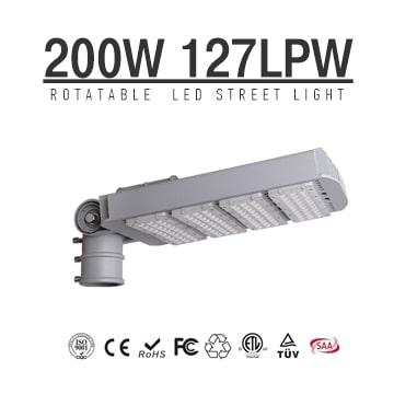 200W TUV SAA LED Street Lights Buy Online 25400LM, Equivalent 600W HID/Metal Halide
