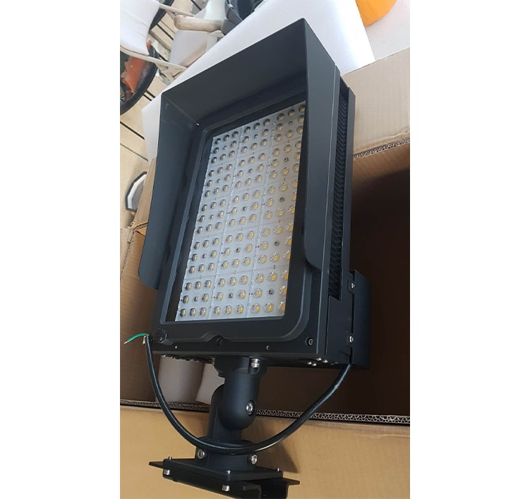155-165LM/W Golf Course LED Lighting Fixtures, 240W 300W Lightning Protection Golf Field Flood Lights