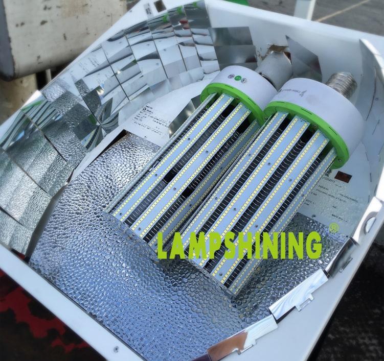 240W LED Corn Bulbs External driver ELG-240-36A 28800Lm Equal 1000W HID