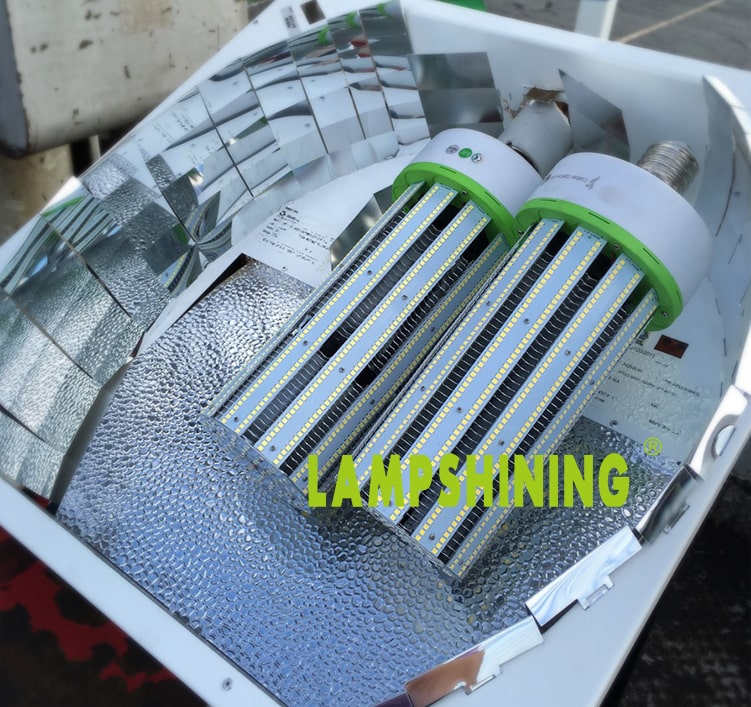 200W LED Corn Bulbs 24,000Lm Equal 750W HID External driver AC 347V~480V