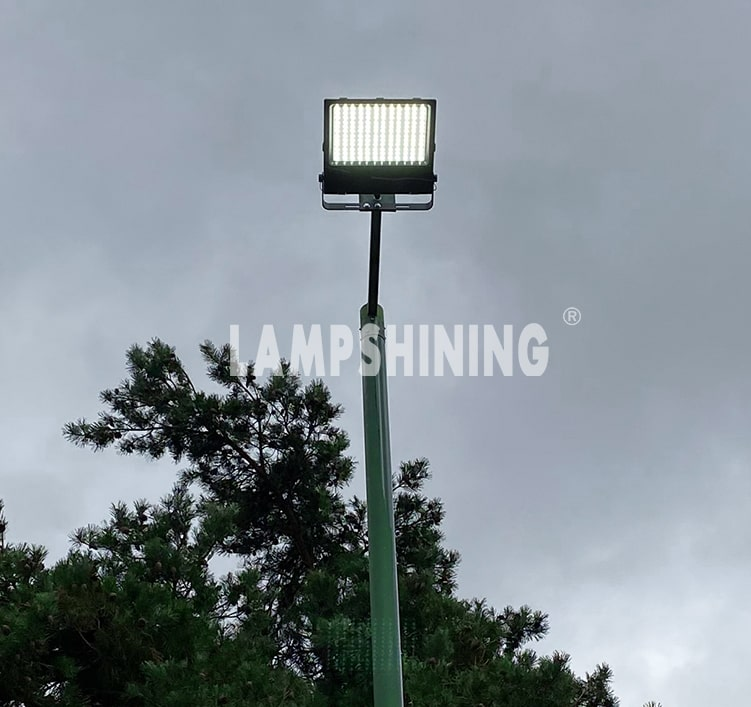 200w LED Flood Light Waterproof IP66 daylight bracket wall mount pole floodlight