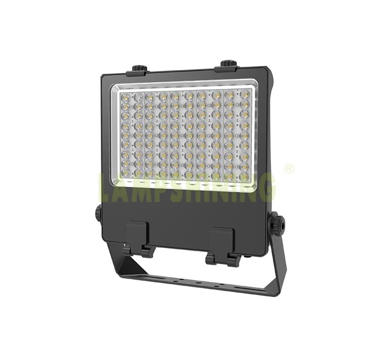240W Pole Mounted LED Flood Light, 180Lm/w DLC adjustable IP66 LED Pole Flood Light Heads