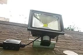 PIR Sensor LED Flood Light wall light Security Light