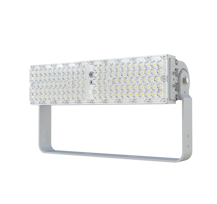 200W Slim Plus LED Flood Light, 36000LM 180LM/W High Efficient Pole Area Lighting