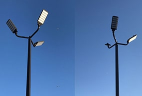 LED Area Lights 150W and 300W with motion sensor for Outdoor Parking Lot