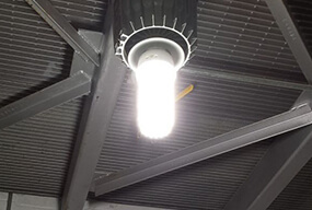 70w 347VAC LED Corn Bulbs for Indoor Building