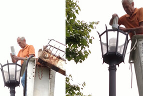 60W LED Corn Bulb for 19ft Street Post Top Bulb Retrofit- customer Feedback