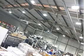240W 32000 Lumens LED Low Bay Light for Factory Lighting Retrofiting