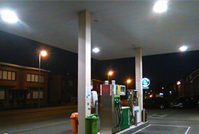 IP64 60W LED Corn Bulbs for Gas Station In Belgium