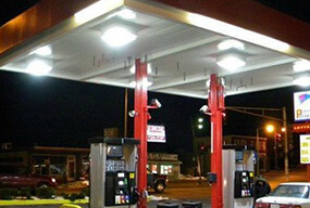 100W LED Corn Bulb used Canopy Fixtures for Gas Station