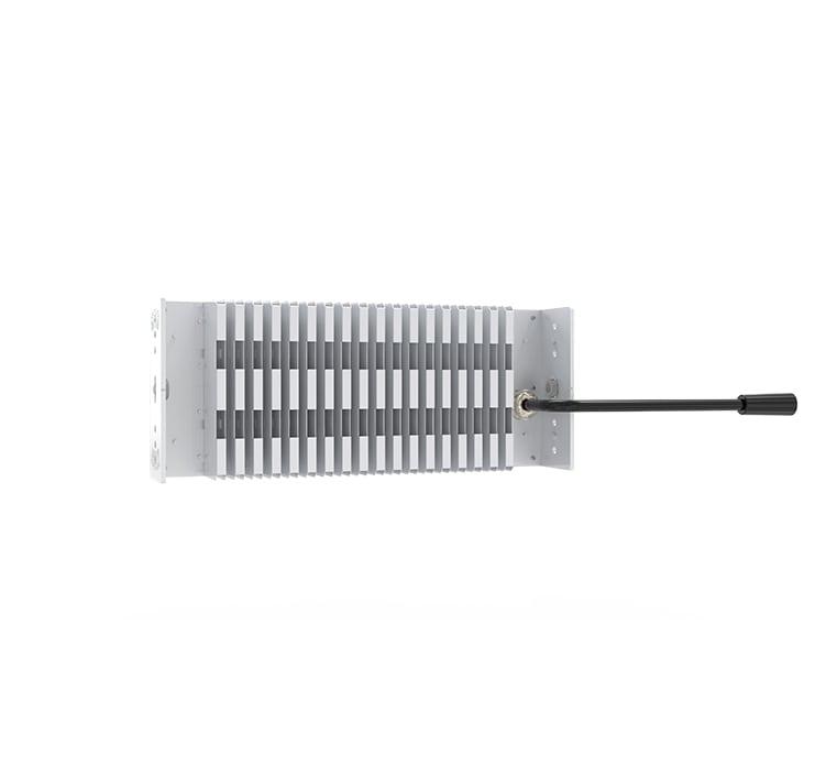 100W LED Fin Module Light, Waterproof Lumileds 5050 160Lm/W Area Light