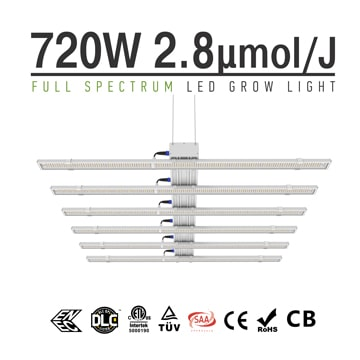 Professional Highest Yielding LED Grow Lights | Indoor Full Spectrum LED Plant Grow Lamp