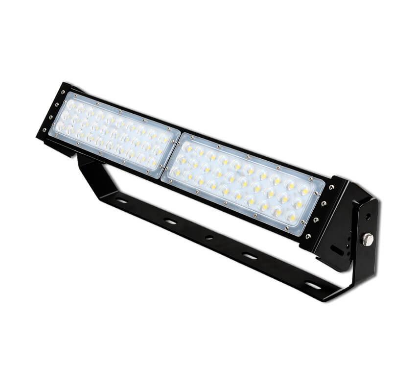 100W LED Flat High Bay Light 12500 Lumen Equivalent 250W HID/Metal Halide Light