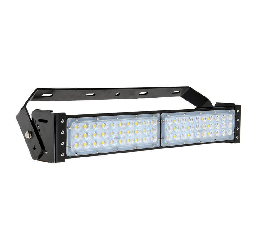 100W LED Flat High Bay Light 12500 Lumen Equivalent 250W HID/Metal Halide Light