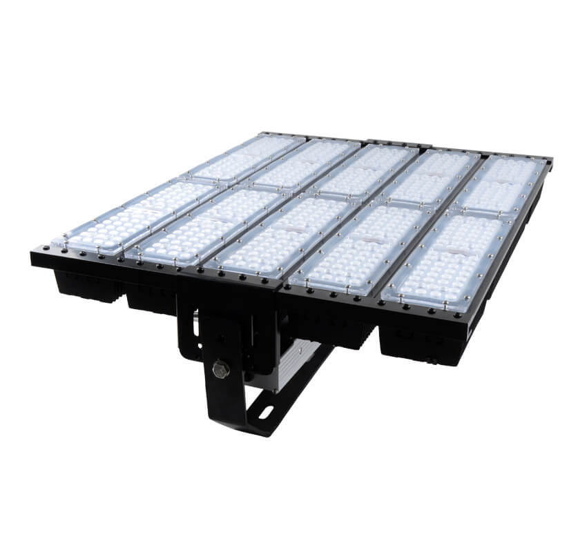 500W LED Flat High Bay Light 62500 Lumen Equivalent 2000W