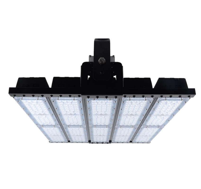 500W LED Flat High Bay Light 62500 Lumen Equivalent 2000W HID/Metal Halide Light