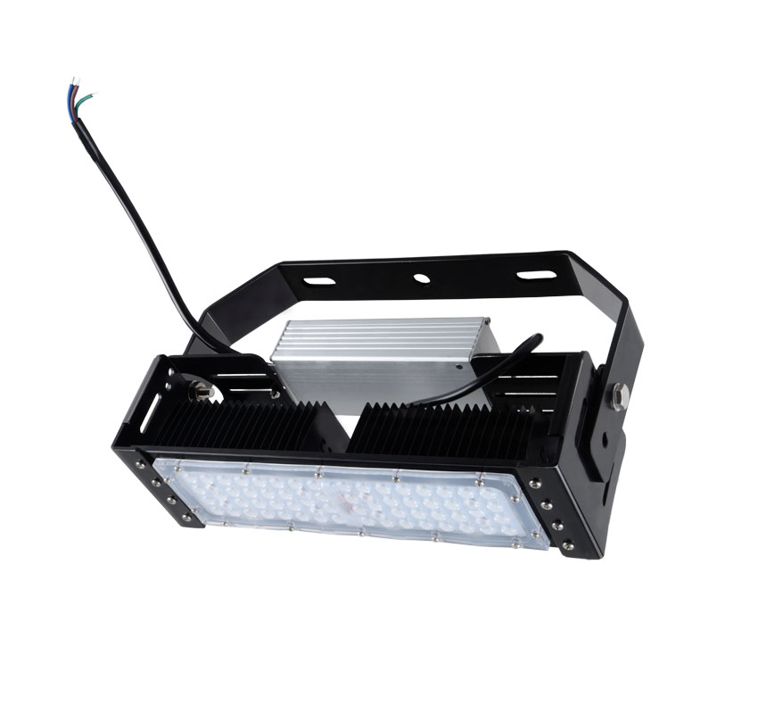 50W LED Flat High Bay Light 6000 Lumen Equivalent 125W HID
