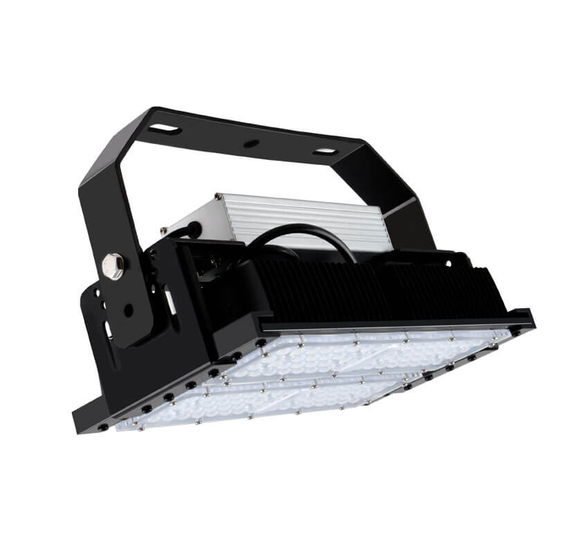 100W LED Flat High Bay Light 12500 Lumen Equivalent 250W